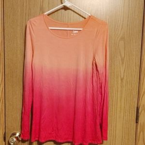 Justice rayon long sleeve size 16